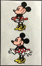 Stickerfitti Disney Mickey Mouse Stickers Vintage Style #C6 2 Sheets