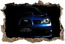 Subaru Impreza WRX Sports Car Bedroom Wall Art Sticker Decal Print
