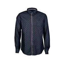 Armani Men's Long Sleeve Collared Casual Shirts & Tops