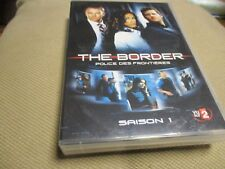 "COFFRET 4 DVD ""THE BORDER, POLICE DES FRONTIERES : SAISON 1"""