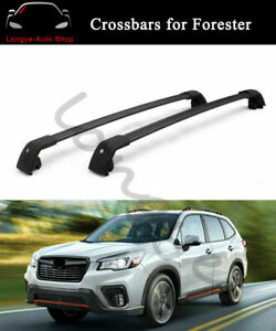 Crossbar Cross bars Fits for Subaru Forester 2019-2021 Roof Rack Rail Carrier
