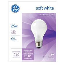 New GE Soft White bulbs 25 Watts, 2 Bulbs