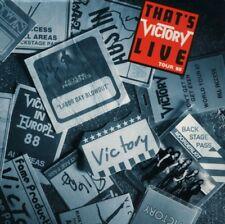 VICTORY-that 's live-tour'88-LP VINILE-Hermann Frank Tommy Newton