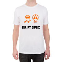 Novelty Traction Control ASC Drift Spec T Shirt in SMALL - Ideal for BMW Owners