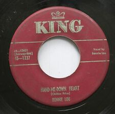 Country 45 Bonnie Lou - Hand-Me-Down Heart / Tennessee Wig Walk On King