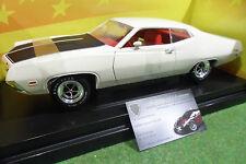 FORD TORINO Cobra 1971 blanc 1/18 d AMERICAN MUSCLE ERTL 36383 voiture miniature