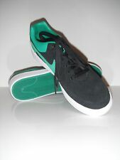 New Nike Men Street Gato AC Black/Green Fashion Sneaker Casual Shoe sz 9