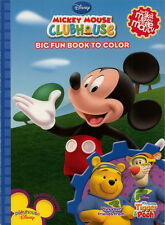 Mickey Clubhouse coloring book RARE UNUSED