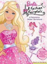 Barbie in A Fashion Fairytale (Barbie Panorama Sticker Book)