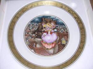 Royal Copenhagen Hans Christian Andersen Shepherdess Chimney Sweep Plate
