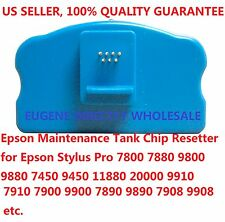Epson Maintenance Tank Chip Resetter 7910 7900 9900 7890 9890 7908 9908 11880
