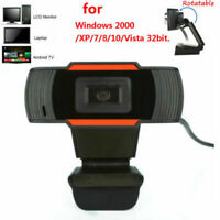 New HD Web Cam Camera Webcam with Microphone USB for Computer PC Laptop Desktop