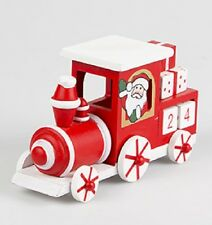 Christmas Countdown Advent Calendar Wood Santa's Locomotive Train Childrens