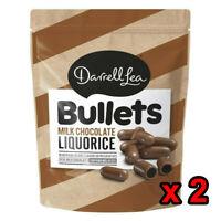 Darrell Lea Milk Chocolate Molasses Liquorice Bullets 1.7Kg Bag Kids Sweet Choco