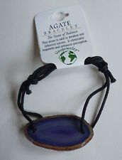 Brazilian AGATE BRACELET - US Seller - Natural Stone Fashion Jewelry - NEW A06