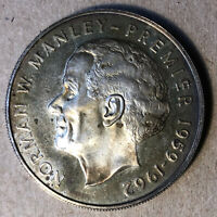 Gem Unc Belize 1974 5 Cents~Nickel-Brass~Only 210K Minted~Free Shipping~