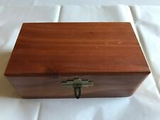 Pet Cedar Wood Memorial Box – Cremation Urn