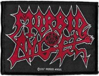 Official Licensed Merch Woven Sew-on PATCH Heavy Metal Rock MORBID ANGEL Logo