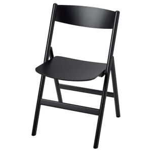 Brand New IKEA RAVAROR Folding Foldable Space Saving Chair Black 304.545.70