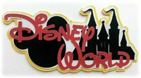DISNEY WORLD TITLE VACATION PREMADE PAPER PIECING 3D DIE CUT BY MYTB KIRA