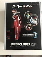BaByliss for Men 7475RU Red Cordless Hair Body Super Clipper XTP