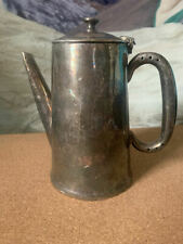 More details for vintage silver plate teapot