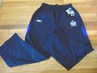 REEBOK NHL TEAM ISSUED LOS ANGELES KINGS CENTER ICE COACHES WIND PANTS SIZE XL
