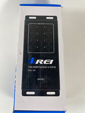 New listing Orei 1x8 8 Ports Hdmi Powered Splitter by Orei for Full Hd 1080P 4K @ 30Hz & .