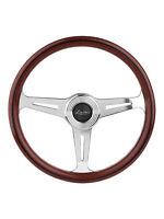 Luisi Italy Vintage Steering Wheel Montecarlo 390mm Wood Polished Spokes Classic