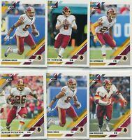 "LOT (9) 2019 DONRUSS ""ALL"" WASHINGTON REDSKINS JOHN RIGGINS PETERSON - A1608"
