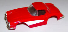 """""""NEW"""" TYCO RED CORVETTE BODY (WIDE CHASSIS)"""