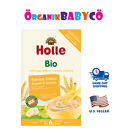 HOLLE Organic Porridge Banana-Semolina Baby Cereal from 6 MONTHS FREE Shipping!