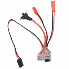 20A Mini ESC For Brushed Motor 2S Compatible JST Plugs for WPL, MN, JJRC etc.