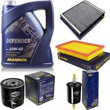 Inspektionspaket Filter Set MANNOL Defender 10W40 Motoröl+ VW Polo 10752941