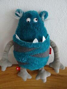 Sigikid Monster Blue Disaster Sweet Beasts 38823 Plüsch Kuscheltier Stofftier