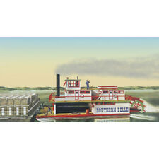 Lindberg 1/64 Southern Bell Paddle Wheel Steamship
