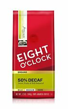 EIGHT O CLOCK GROUND COFFEE 50% DECAF 12OZ (PACK OF 6)