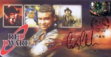 More details for red dwarf - signed/autographed stamp cover  by craig charles