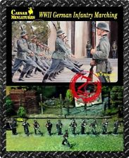 Caesar Miniatures 1/72nd WWII German Infantry Marching Figures CMF81 NEW!