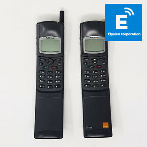 2x Nokia 503 (NHK-6RY) 2G - Vintage Mobile Phone - No Power & Battery Faulty