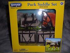 Breyer New * Pack Saddle Set * 2496 Limited Edition Traditional Model Horse NIB