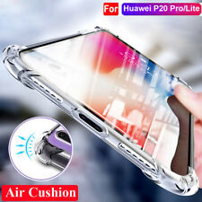 For Huawei P20 Pro / Lite Nova 3i Clear Shockproof Slim Silicone TPU Cover Case