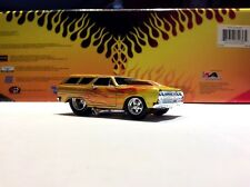 MUSCLE MACHINES 1965 CHEVY CHEVELLE WAGON -  LIMITED EDITION  1/64 DIECAST  NICE