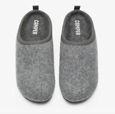 Camper Wabi Gray Wool Slides Slippers Size 39