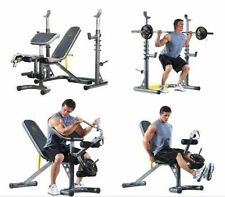 Workout Weight Bench Press Incline Decline Smith Machine Gym Squat Lifting Rack