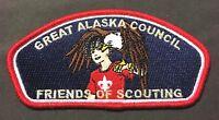 BSA GREAT ALASKA COUNCIL NANUK OA 355 AK 523 549 FLAP SCOUT FOS EAGLE DONOR CSP