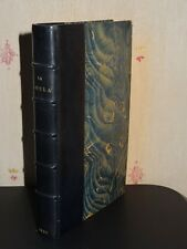 LA GUZLA - (Prosper Mérimée) - 1827 - EDITION ORIGINALE - RELIURE SIGNÉE CHAMPS