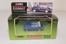 * CORGI TOYS 96757 MORRIS MINOR LOVEJOY BLUE MINT BOXED