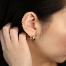 Earring | Minimalist Arrow Shape Earrings 14K Solid Gold Drop Earring | Dangle