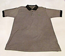 Lyle & Scott Men's Polo Golf Shirt L Double Mercerized Cotton Oak Hill C.C. Logo